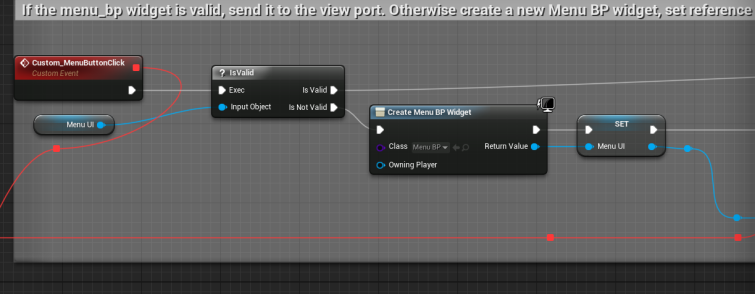 UE4 Development — The Journey Part 4 1: Loading Buttons at Runtime