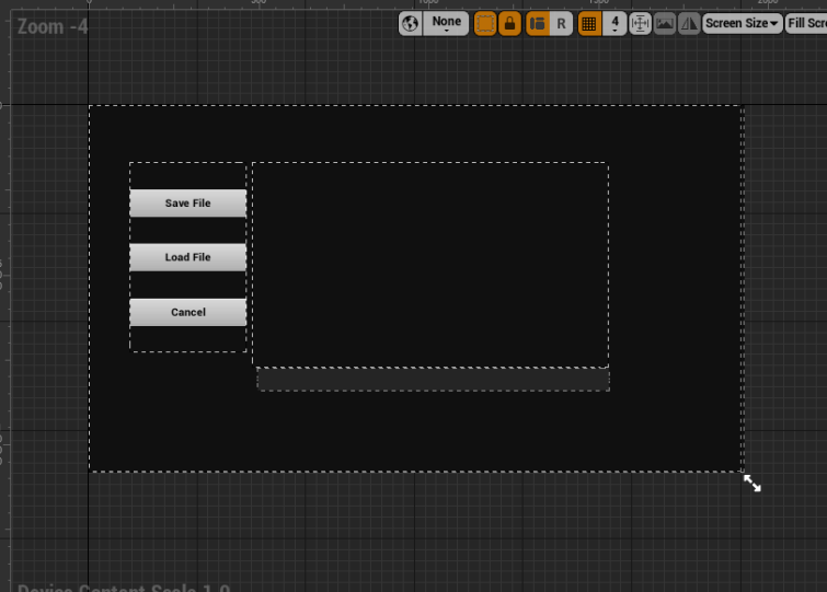 UE4 Development — The Journey Part 4 1: Loading Buttons at